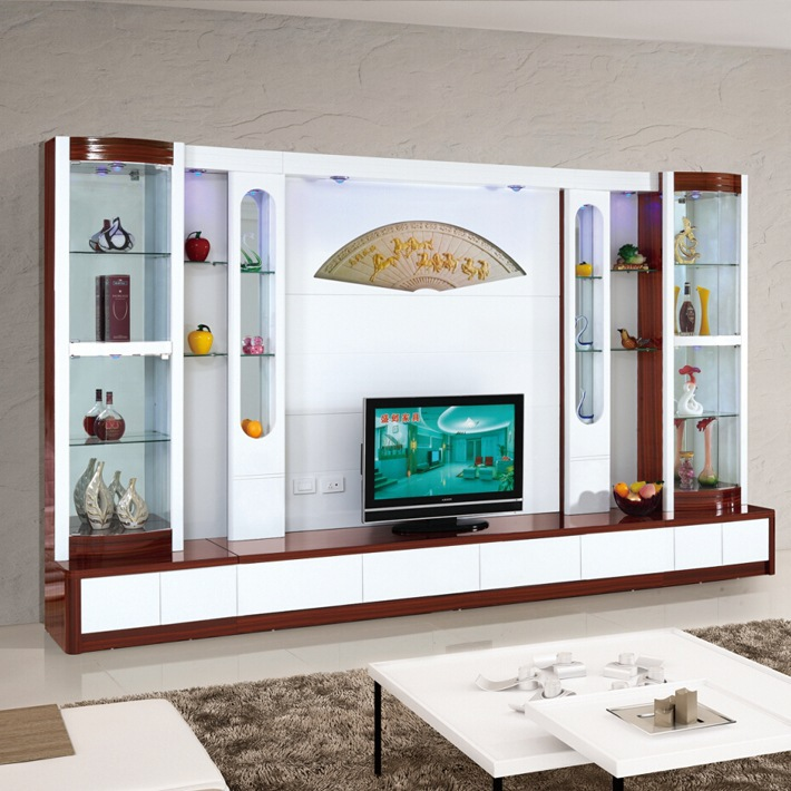Latest arrival plasma design led tv wall units 013 cheap for Latest lcd wall unit designs