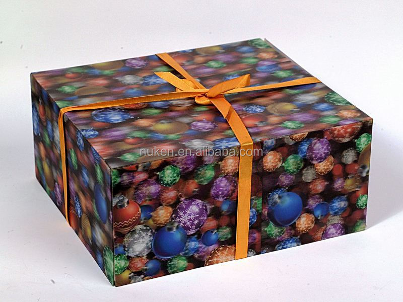 Tequila Packaging & Blackberry Brandy Drinks Packing Or Weddings Boxes 3D Lenticular Printed Shipping Boxes Wholesale