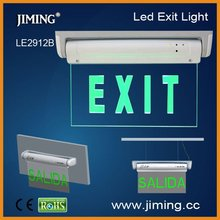 LE2912B fire exit sign with led
