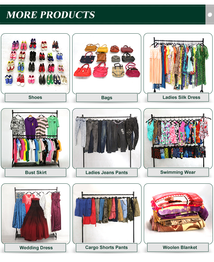 Fashion bra used clothes in kg bales price