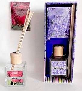 Ddi Reed Diffuser With Bonus Sachet- Lavender And Rose(Pack Of 24)