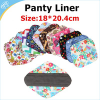 Cheap Health Bamboo Lady Soft Sanitary Pads, Color Waterproof Panty Liner