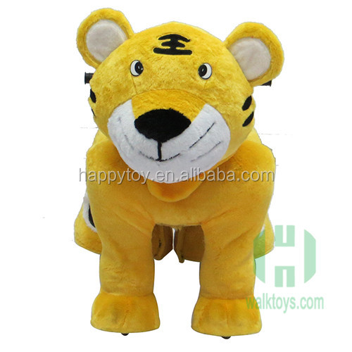 Top sale wholesale Tiger King electric ride on horses ride on animal toy
