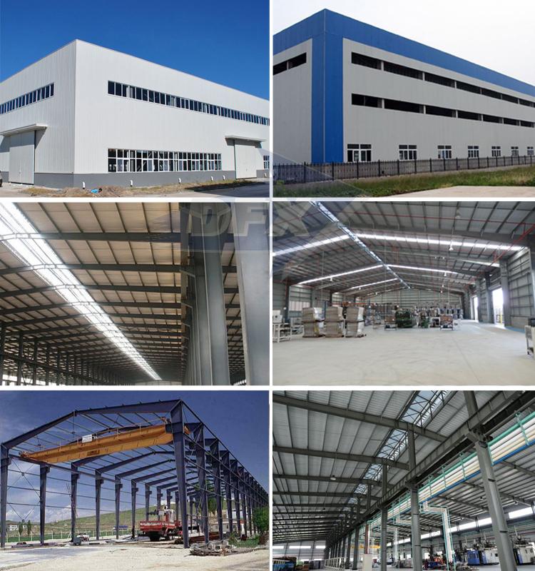 Qingdao ספק פלדת מבנה מחסן מפעל גדול תוחלת טרומי אולם
