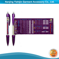 Promotional Advertising Pen with Pull Out Paper