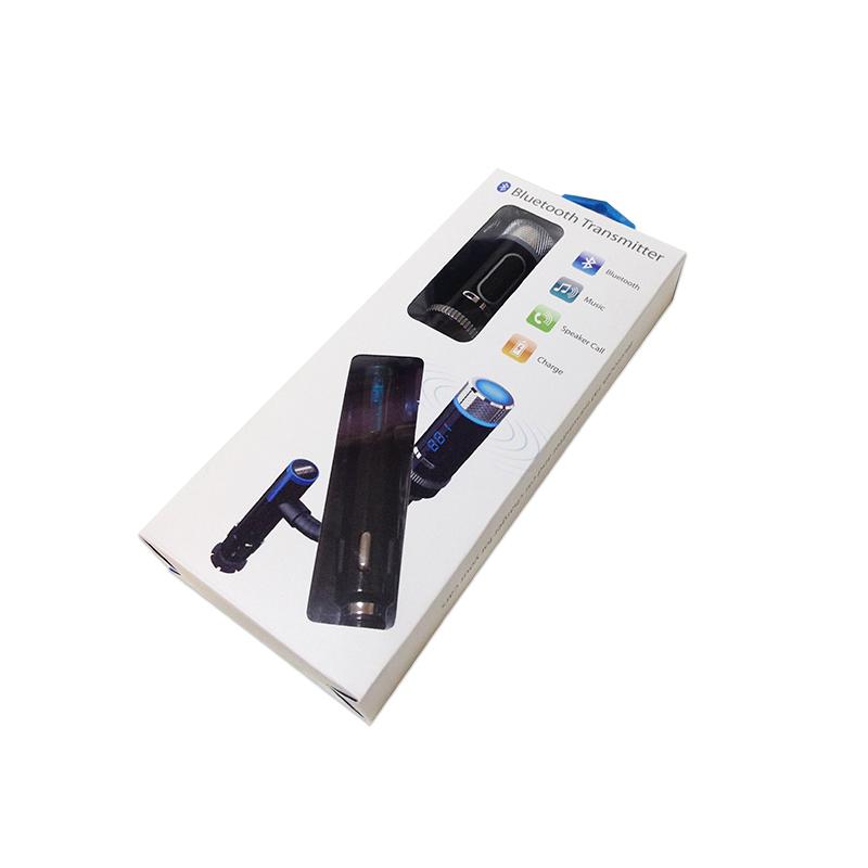 F33 громкой связи Bluetooth автомобиль комплект с fm-передатчик Bluetooth руки USB автомобильное зарядное устройство играть музыка удивительные Bluetooth автомобиль комплект