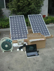 Home Solar Power System / Home Solar System / Solar Power System 40W With Hi-fi Loud Speaker and radio+cassette 100 w