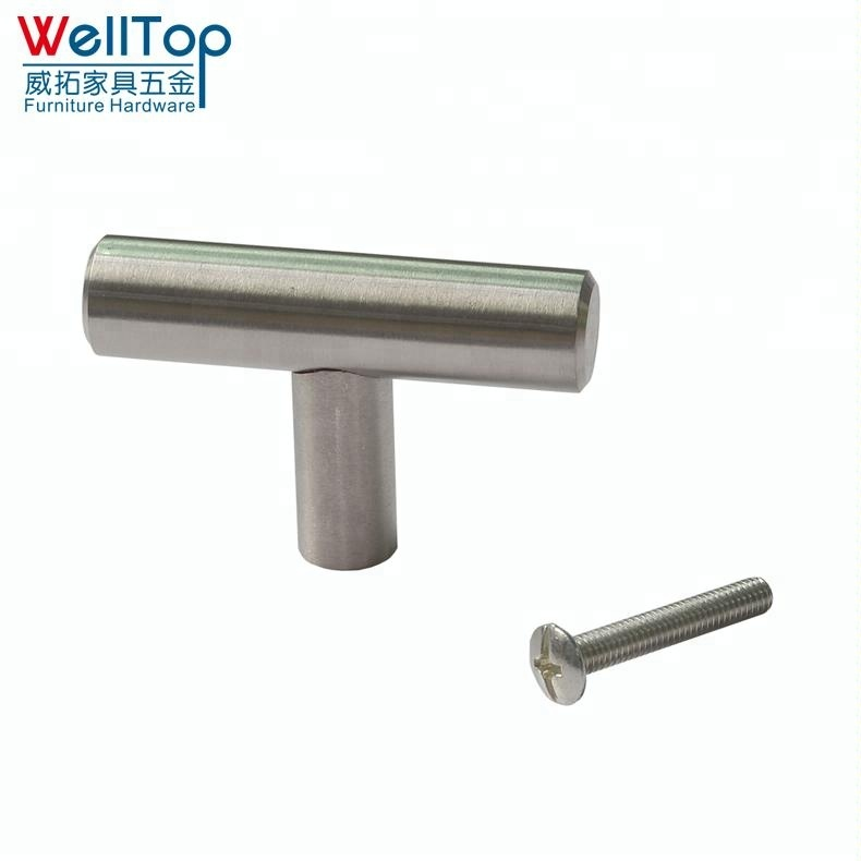 Furniture stainless steel brushed SS cabinet drawer handle VT-01.056