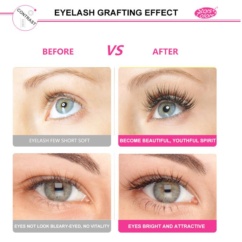 Middle Hollow Matt Black Ellipse Flat Eyelash Extensions Wholesale
