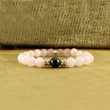SN0717 Fertility Jewelry Romantic Gift For Her Beaded Jewelry Nature Bracelet Woman Everyday Rose Quartz Pink Bracelet
