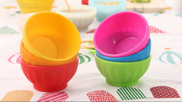 colorful special outstanding designed anti-fracture nontoxic flavourless food grade silicone bowl