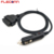 Car Cigarette Lighter Cable OBD II Female OBD2 to Cigarette Lighter Adapter