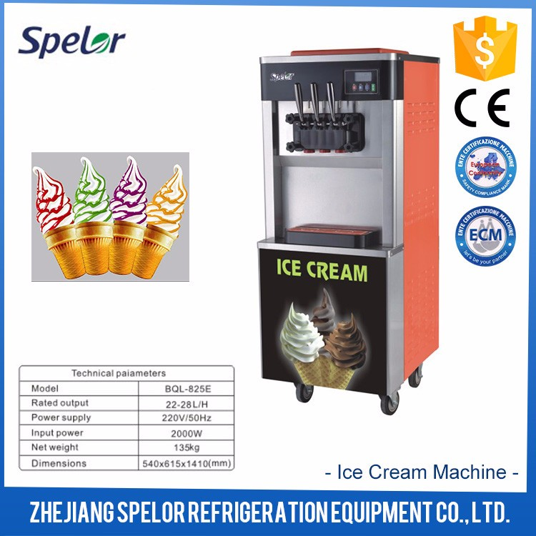 Humanization design Ice Cream Making Machine Commercial