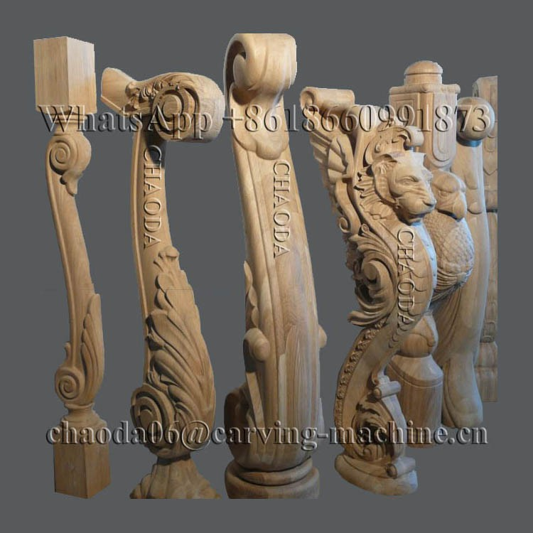 3d Corbel Pilaster Capital Column Antique Furniture Leg