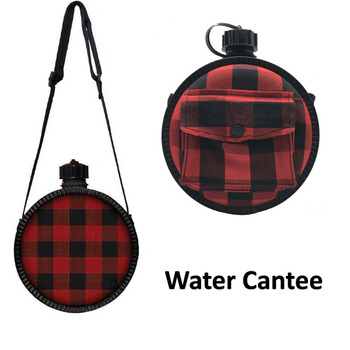 Outdoor Plastic Military Bottle Water Canteen