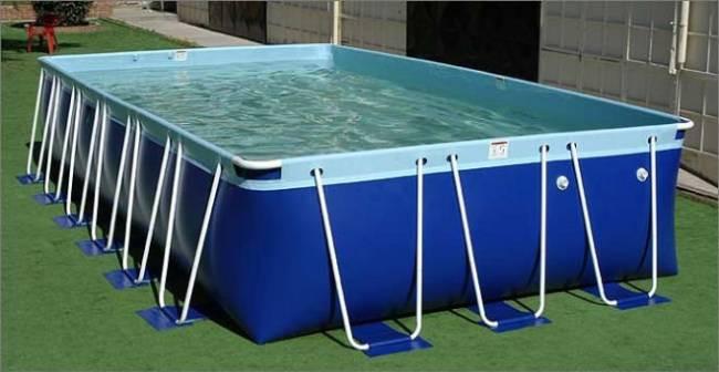 2016 nouveau design rectangulaire piscine hors sol for Piscine portable
