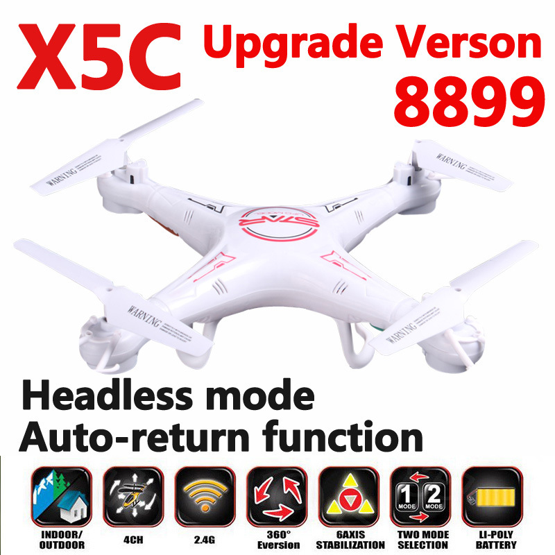 8899 RC Quadcopter X5C-1 Headless Autoreturn Mode 2.4G 6 Axis Remote Control