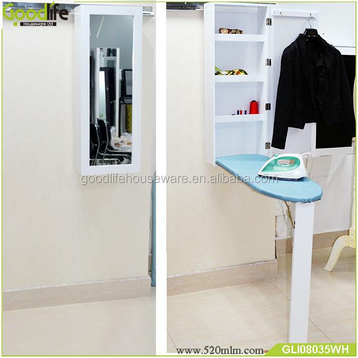 mont en gros mur en bois table repasser armoire avec miroir planche repasser id de produit. Black Bedroom Furniture Sets. Home Design Ideas