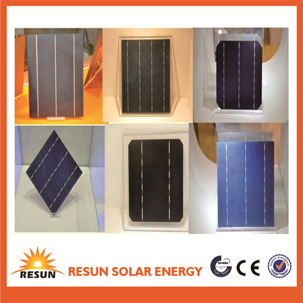A grade certified solar cell mono/poly crystalline goods in stock