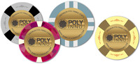 SunFly PolyInno OEM New custom ceramic casino poker chips