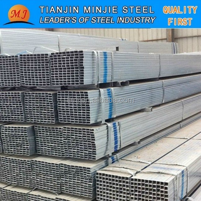 galvanized square structure steel pipe/tube do the fence