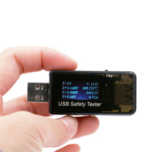 Digitale Display 3 V-30 V Mini Stroom Spanning Lader Capaciteit Tester USB Arts QC2.0 snel opladen power <span class=keywords><strong>bank</strong></span> <span class=keywords><strong>meter</strong></span>