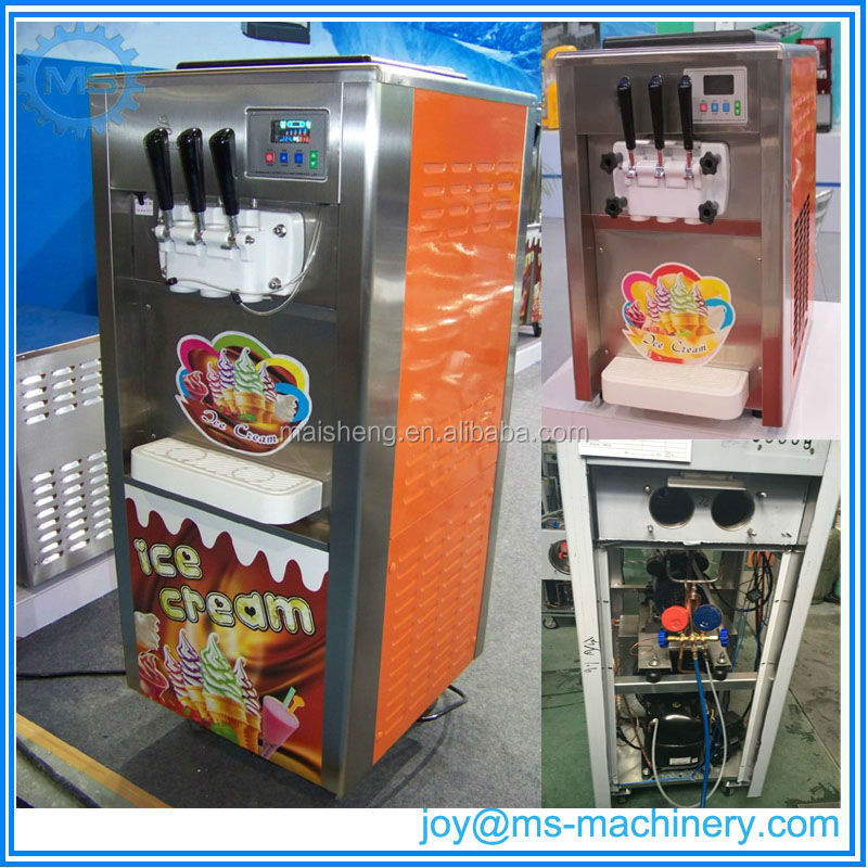 Factory supply cheap price mcdonald's soft ice cream machine with good quality