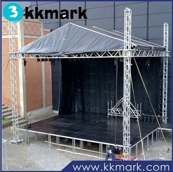 Small Stage Lighting Truss System Aluminum For Sound And Light Product On Alibaba