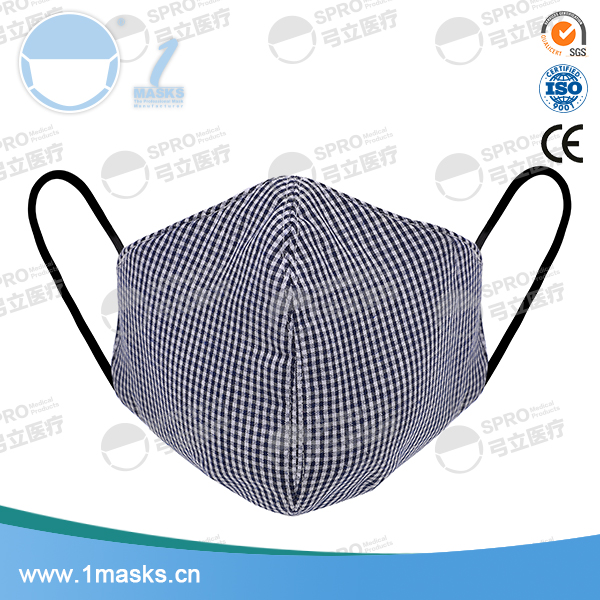 Outdoor fashion fold printed earloop cotton air pollution masks