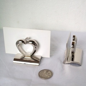New design business card holder with zinc alloy material