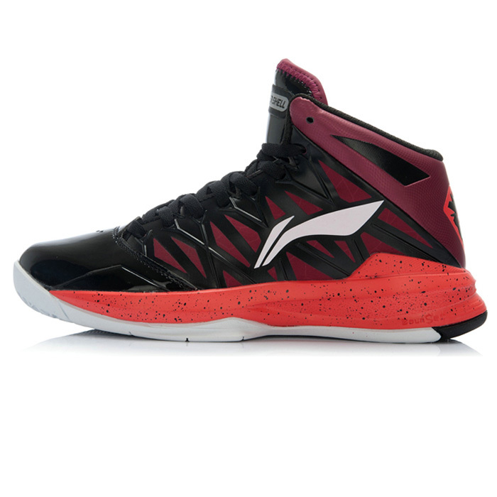 new MEDIUM CUT LI-NING authentic men basketball shoes 2015 spring rubber breathable women mens basketball shoe L2QX110
