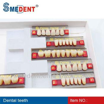 Denture Acrylic Resin Teeth/dental Acrylic Teeth For Dentures ...