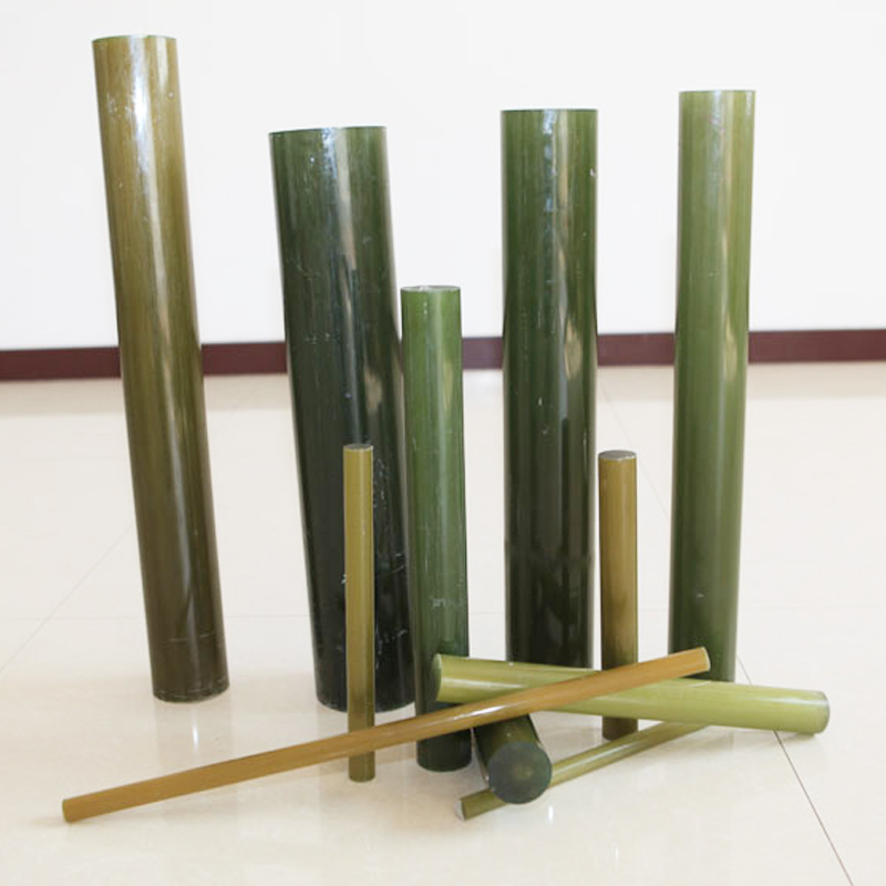 Epoxy resin solid fiberglass rods for composite insulator