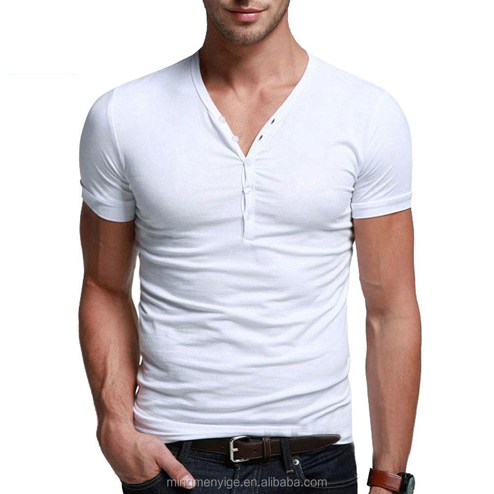 huge discount b6522 97192 Guangzhou Cotton Tshirt Factory V Neck Slim Fit Moderne T-shirt 180gsm For  Men - Buy Moderne T-shirt,Cotton Tshirt Factory,T Shirt 180 Gsm Product on  ...