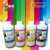 Fluorescent sublimation ink compatible for T5070/T7000