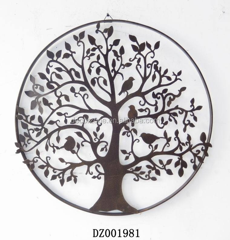 Metal Wall Plaque antique chinese decorative tree metal wall plaque - buy wall