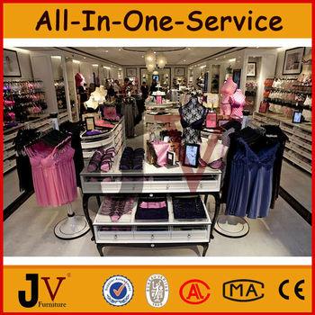 9cc75baaf9 Elegante decoración para la tienda de ropa interior estante de exhibición