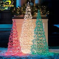 most popular product in asia paper mache christmas tree