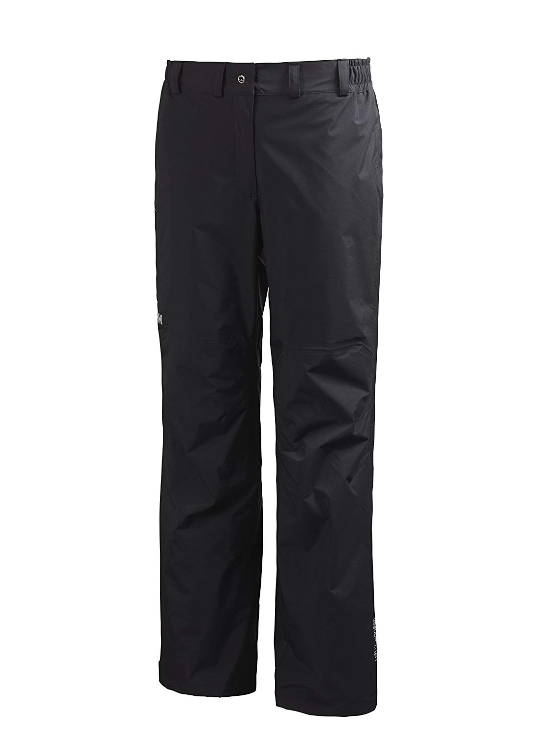 Helly Hansen Women's Packable Rain Pants, 3X-Large, Black