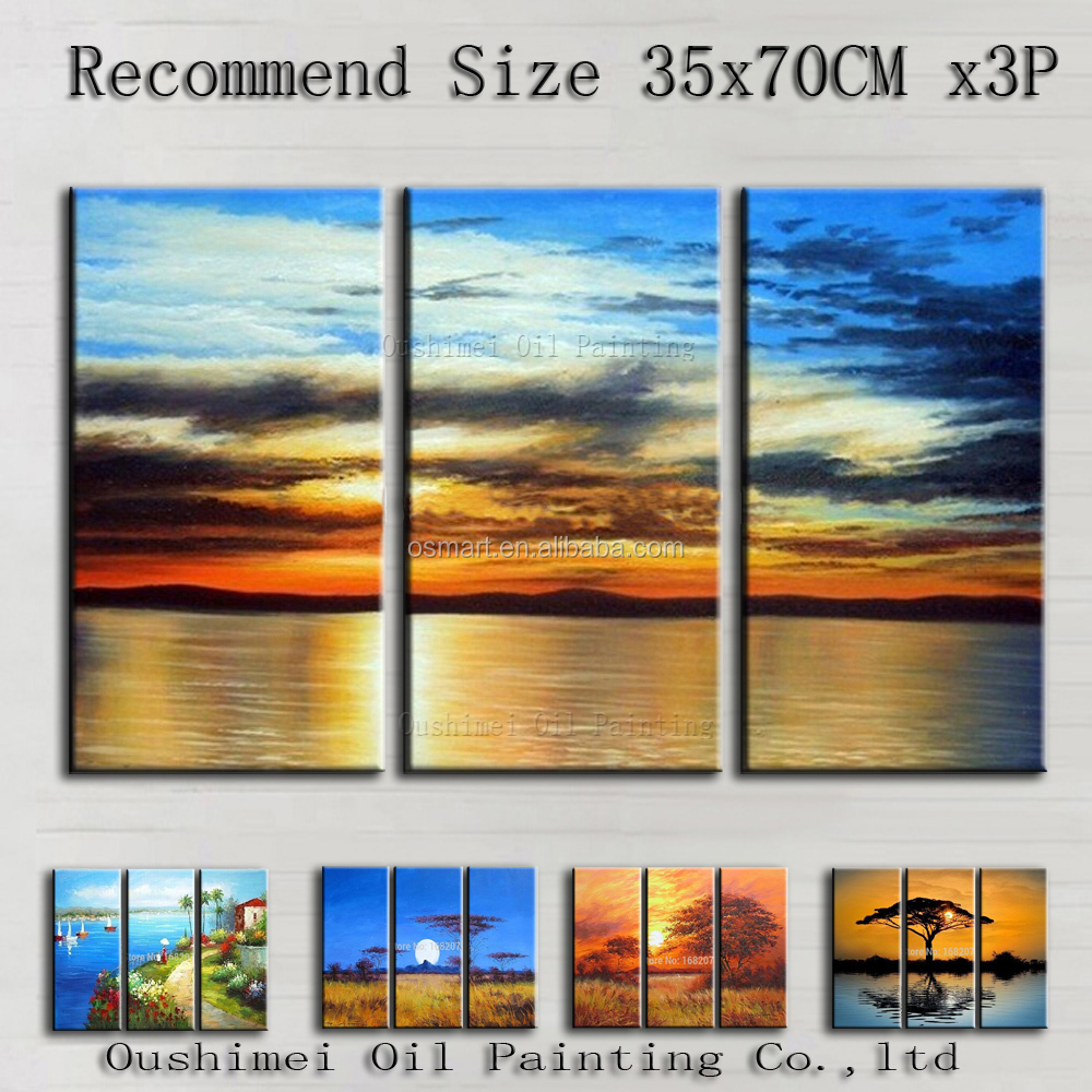 Top Painting Technique Artist 100%Hand-painted High Quality Various Impression Landscape Oil Painting On Canvas For Living Room