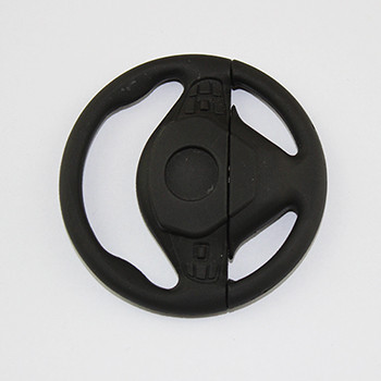 cartoon steering wheel Shape plastic usb flash drive 1gb 2gb 4gb 8gb with customized logo