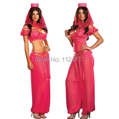 ab4ae7e96842 Get Quotations · Adult Sexy Indian Dancers Fancy Dress Costume for Women  Halloween Party Cosplay Steel Belly Dance Carnival