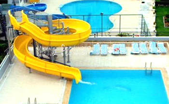 fiberglass water slide for swimming pool open body slide buy used