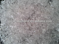 1-3 mm Al2O3 granule 99.999% transparent crackle GDMS testing report hotselling in Korea, US, Russia high purity alumina