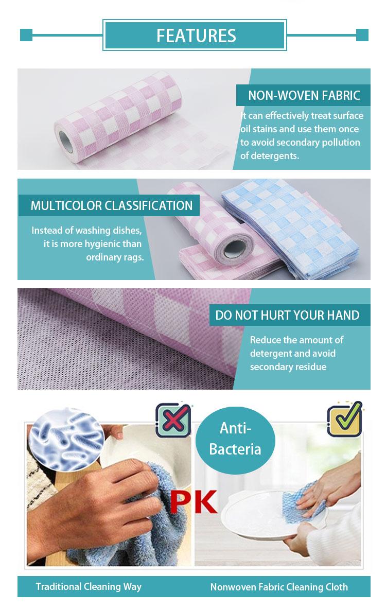 Reinigung tücher einweg sauber wischen gericht tuch antibakterielle mikrofaser-reinigungstuch