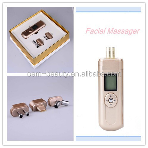 Three treatment heads Galvanic Facial SPA beauty products for home best using -JTLH-1520