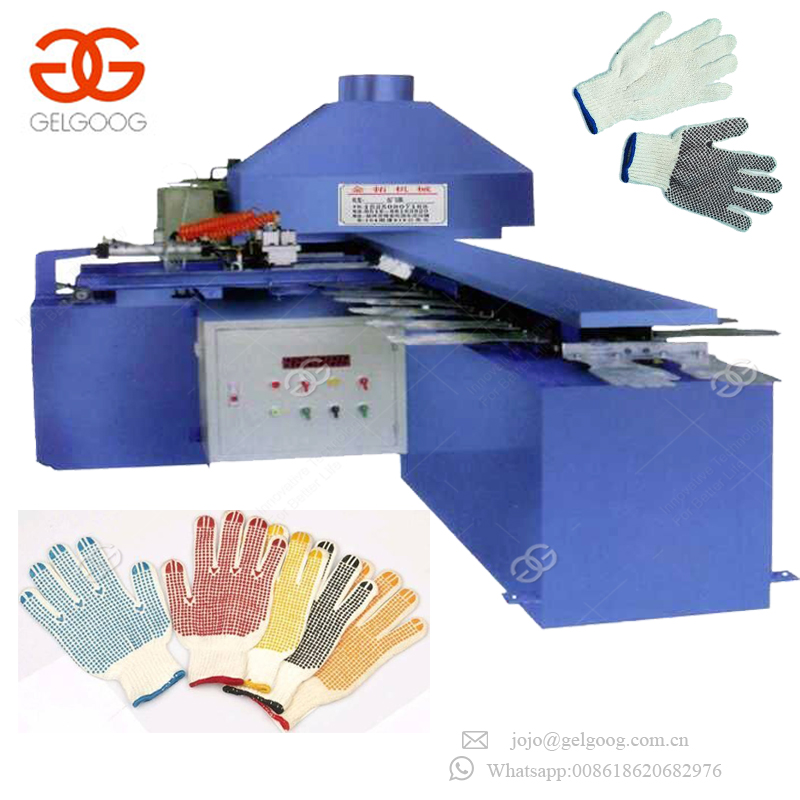 Factory Price Industrial Automatic Hand Glove Making Machinery Working Glove Dotting Machine On Sale
