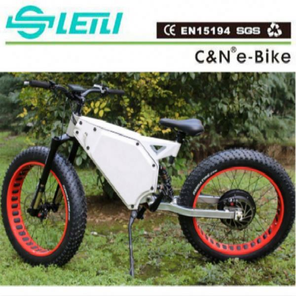 26 inch fat tyre 3 wheelS electric catgo bike /tricycle /trike with disc brakes