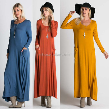 f56747d9a49 Women New Model Western Casual One Piece Ladies Advanced Apparel Dresses  Dressing Gowns Latest Trends For
