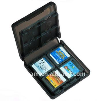Black Game Card Case For Nds Lite 16 In 1 Folding Game Card Case For